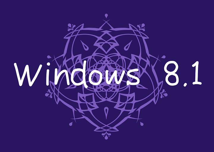 Winsows 8.1 ロゴ