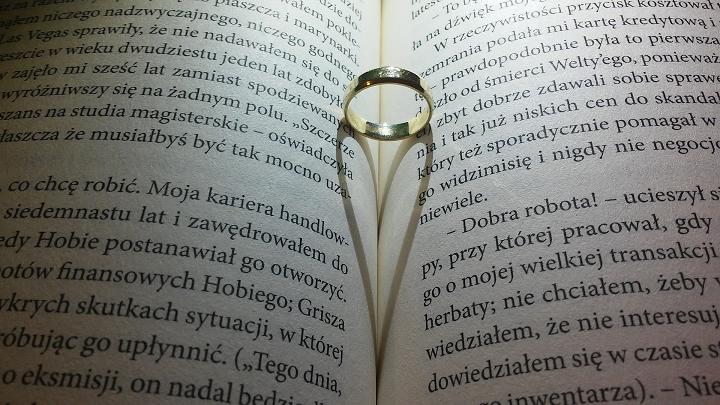 ハートと指輪
