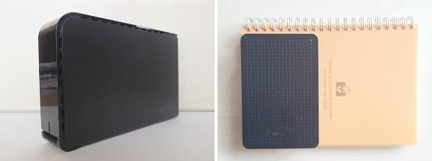 外付けHDD・据え置き型とポータブル