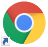Google Chrome のショートカットアイコン
